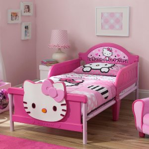 Hello Kitty 3D Toddler Bed - Pink - Delta - Toys
