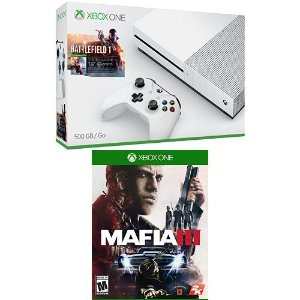 As Low As $299.99 2 Free Games with Xbox One S Console