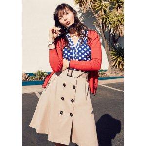 Reminiscent Vision Skirt | Mod Retro Vintage Skirts