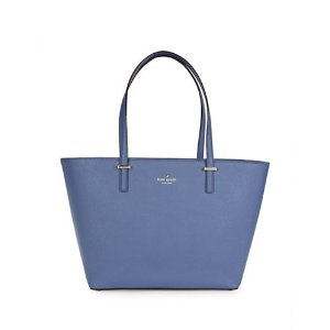 Small Harmony Leather Tote | Lord & Taylor