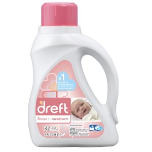 Dreft Laundry Detergent, Stage 1: Newborn, 32 Loads | Jet.com