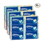 Kleenex Everyday Facial Tissues, 210 ct, (Pack of 18)