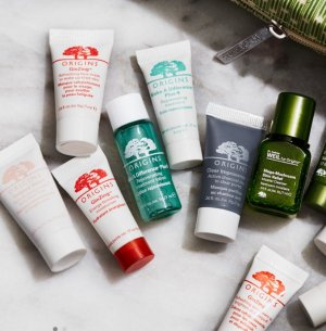5 free samples with any $35 order+ full-size hand cream with $65 purchase @ Origins