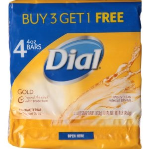 $1.97 + Free Shipping Dial Bar Soap, Gold, 16 Ounce