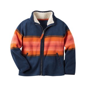 Fleece Zip-Up Jacket | Carters.com