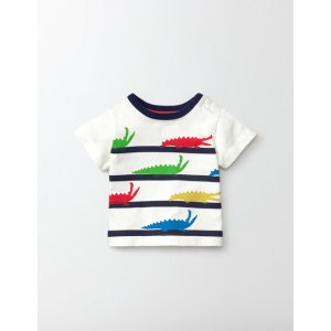 Summer Stripy T-shirt 71609 Clothing at Boden