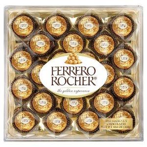 $4.99 Ferrero Rocher Fine Hazelnut Chocolates 24 ct