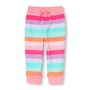 Toddler Girls Active Rainbow Stripe Jogger Pants | The Children's Place