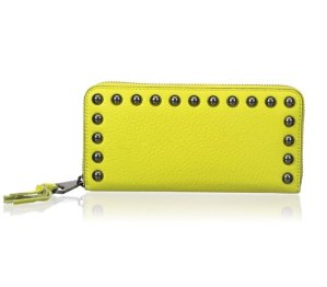 Rebecca Minkoff Ava Zip Wallet with Studs Wallet