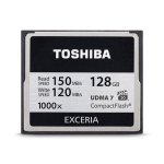 Toshiba 128GB EXCERIA 1000x Compact Flash Memory Card