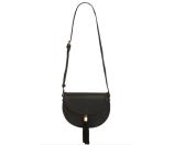 Street Level Tassel Flap Crossbody Bag