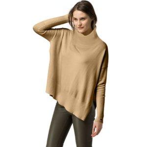 Cotton Wool Cape Sweater