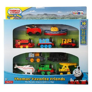 Start! 2016 Black Friday! $14.99 Fisher-Price Thomas & Friends Take-n-Play Thomas' Favorite Friends