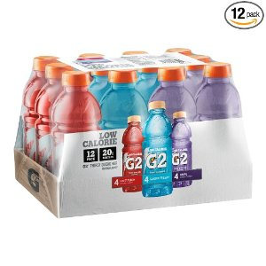 Gatorade G2 Thirst Quencher Variety Pack, 20 Ounce Bottles ( 2 Pack of 12)