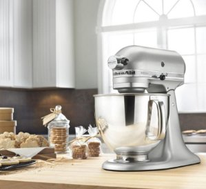 2016 Black Friday!KitchenAid Professional 5 Plus Silver Series Stand Mixer