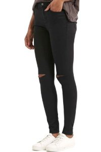 Topshop Moto 'Leigh' Ripped Skinny Jeans  @ Nordstrom
