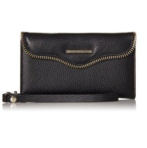 $18.74 Rebecca Minkoff Zipper-Trim Folio Wristlet for Galaxy S6 Phone