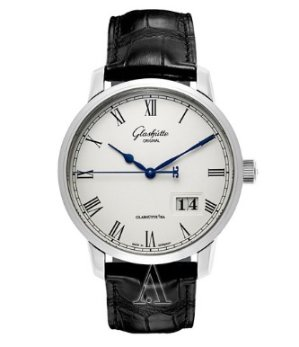 Dealmoon Exclusive! Glashutte Men's Senator Panorama Date Watch 100-03-32-42-04