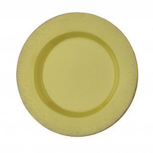 Anchor Home Citrus Avocado Green Dinner Plate, Set of 4, 11.5