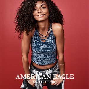 40% Offthe AEO Holiday Collection + BOGO 50% Off Jeans@AE.com