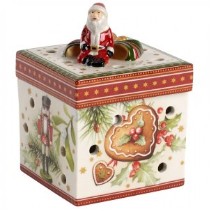 Christmas Toys Small Square Gift Box : Christmas Market 3.5 in - Villeroy & Boch