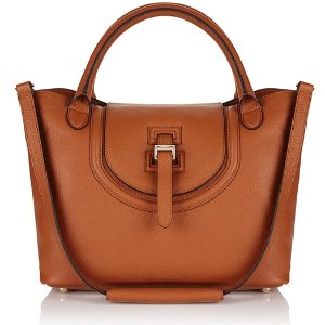 meli melo Thela Halo Medium Tote - Tan - Free UK Delivery over £50