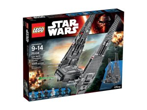 $83.96LEGO Star Wars Kylo Ren's Command Shuttle 75104 Building Kit