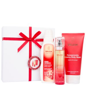 Weleda Pomegranate Ribbon Box (Worth £35) - FREE UK Delivery