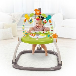Prime Member Only! Fisher-Price Woodland Friends SpaceSaver Jumperoo