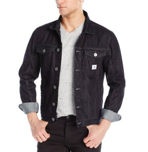 $33.04 Extra 30% Off Calvin Klein Jeans Men's Denim Trucker Jacket