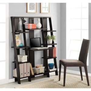 Altra Ladder Desk and Bookcase
