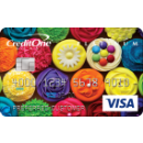 Show off your style with a premium card design, a fee may apply. Credit One Bank® Unsecured Platinum Visa®