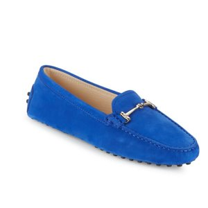 Tod's - Heaven Morsetto Leather Penny Loafers - saksoff5th.com