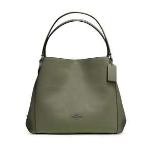 Edie 31 Calf and Buffalo-embossed Leather Hobo | Lord & Taylor