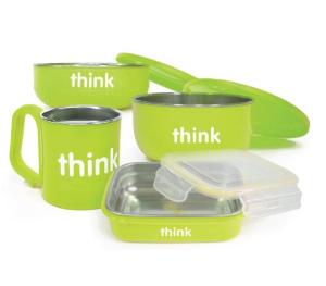 thinkbaby The Complete BPA Free Feeding Set, Light Green  @ Amazon