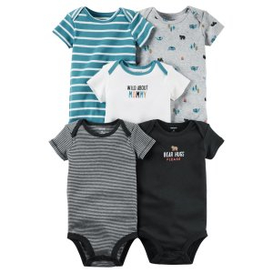 Baby Boy 5-Pack Original Bodysuits | Carters.com