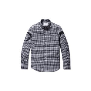 [Day & Night] gingham check cotton shirt(SLIM FIT)