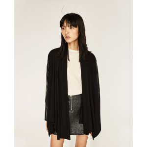 COWL NECK CARDIGAN - COLLECTION-SALE-WOMAN | ZARA United States