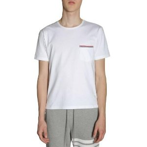 Thom Browne T-shirt Con Taschino Men