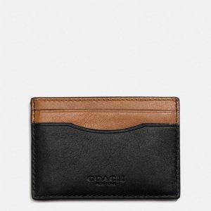 COACH: Card Case In Sport Calf Leather