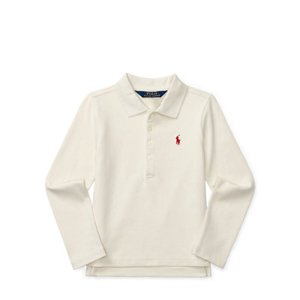 Stretch Mesh Long-Sleeve Polo - Long Sleeve � Polo Shirts - RalphLauren.com