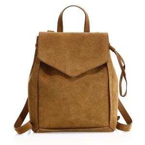 Sienna Mini Suede Drawstring Backpack by Loeffler Randall