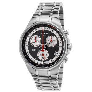 Tissot Men's Special Edition PRX Chrono Stainless Steel Black Dial SS Case | World of Watches
