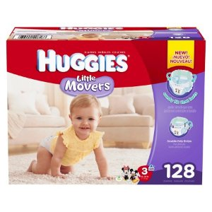 Huggies® Little Movers Diapers Giant Pack (Select Size) : Target