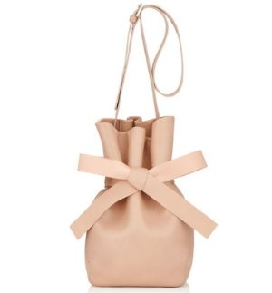 Jimmy Choo Ballet Pink Nappa Leather Bucket Bag