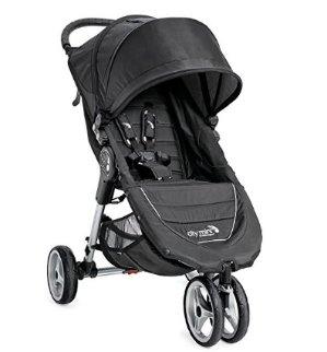 Baby Jogger 2016 City Mini 3W Single Stroller - Black/Gray
