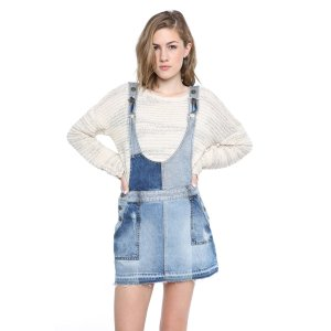 Free People The Patchwork One Piece Mini Dress   South Moon Under