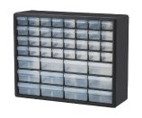 Akro Mils 10744 Clear 44-Drawer Parts Cabinet | Jet.com