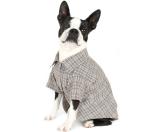 Romy+ Jacob PlaidCotton Jersey Dog Shirt