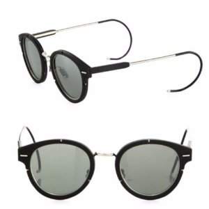 Dior Mirrored 61MM Round Sunglasses